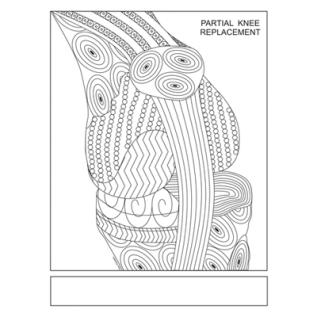 Partial Knee ColoringPage